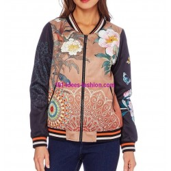 bomber print mid season 101 idées 351BOM boutique clothing