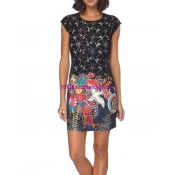 shop dress tunic lace summer 101 idées 119Y outlet