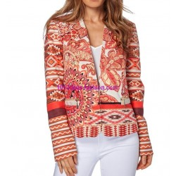 jacket print mid season 101 idées 312VE french fashion