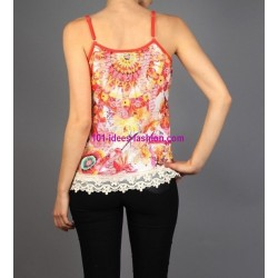 t-shirt top 101 idees 337VRA roupas marca online