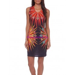 dress tunic print summer 101 idées 104VRA shop europe