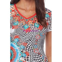 top lace summer ethnic brand 101 idées Design 294VRA