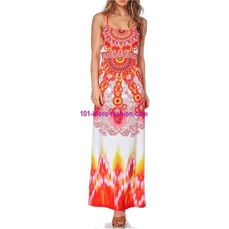 maxidress ethnic summer 101 idées 274VRA indian clothes online