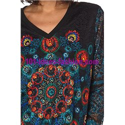 sweat top lace winter mandalas 101 idées 079W paris french