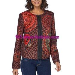 jacket print ethnic winter 101 idées 073CAS paris french