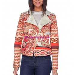 jacket print mid season 101 idées 320VE