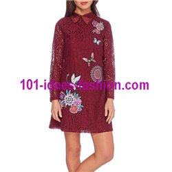 dress tunic lace chic 101 idées 906W christmas clothes and new year