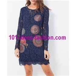 dress tunic lace chic 101 idées 916W christmas clothes and new year