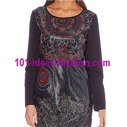 dress tunic sequins 101 idées 253W christmas clothes and new year