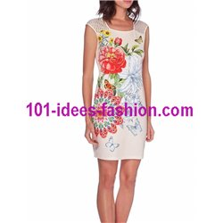 dress tunic lace ethnic chic summer 101 idées 630Y