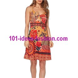 dress summer ethnic chic 101 idées 663VRA Spring Summer 2018
