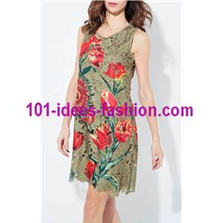 dress tunic lace chic 101 idées 1129W
