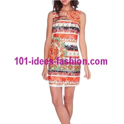 dress tunic lace summer ethnic 101 idées 1512Y
