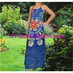 maxidress ethnic floral summer 101 idées 1648Y Spring Summer 2018
