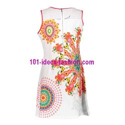 dress tunic lace ethnic floral plus size 101 idées 637YL womens