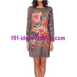 boho chic dress tunic suede 101 idées 228CIW clothes for women