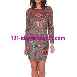 dress tunic suede 101 idées 223WCIN PRINT ETHNICITY clothes for women