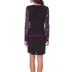 dress tunic print mid season 101 idées 423IN 2017 prom