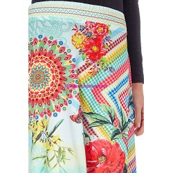 boho chic skirt ethnic print summer 101 idées 867P clothes for women