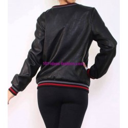 buy now bomber jacket print 101 idées 1952BOM clothes for women