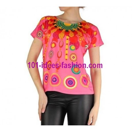 tshirt top summer brand 101 idees 905r spanish style