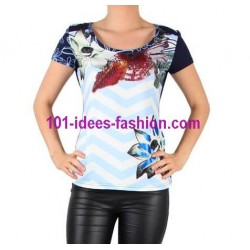 tshirt top summer brand 101 idees 8445