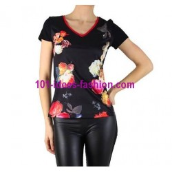 camiseta top verano marca 101 idees 8427