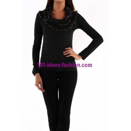 top suedine dy design 1688 mode Tendance