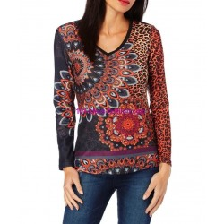 top tshirt leopard hiver 101 idées 242IN