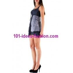 tunic dress summer brand c fait pour vous 804AZ very cheap