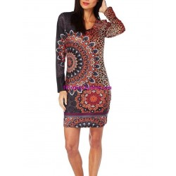 dress tunic leopard winter 101 idées 318IN