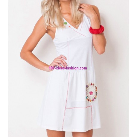 tunic dress summer brand Dy Design 2057BR boutique clothing