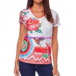 tshirt top summer brand 101 idees 296brvra