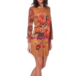 dress tunic suede 101 idées 228CMW