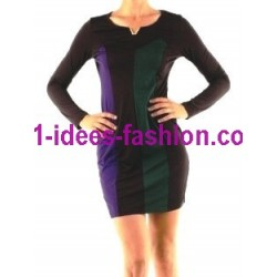 shop dresses tunics winter brand 101 idees 9001VRD outlet