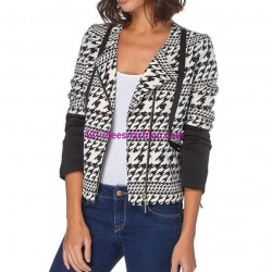 shop jacket black white label 101 idées 011 outlet